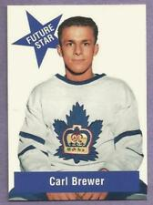 1993-94 Parkhurst Missing Link Carl Brewer Toronto Maple Leafs Future Star #FS-1