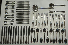 Christofle Spatours silverware set for 12