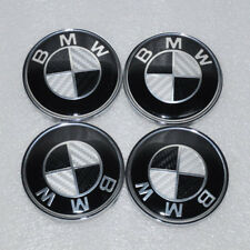 4x Genuine Center Hub Cap Caps Wheel Cover Emblem 1 3 5 E X ZSeries BMW