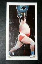 Weightlifting   Alexeyev   USSR  Photo Card # VGC