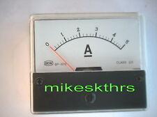 5 A DC Amperemeter Einbau Drehspulenanzeige s.SHOP