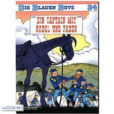 DIE BLAUEN BOYS 34 Ein Captain mit Nadel und Faden Lambil Cauvin FUNNY COMIC
