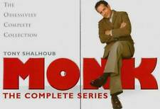 Monk The Complete Series DVD 32-Disc Box Set Limited Edition Brand New, Sealed