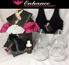 Enhance Breast Enlargement Bra System - breast domes/cups/ suction