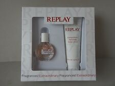 REPLAY Geschenk 2x Set for her 20 ml eau de toilette&100 ml perfumed body lotion