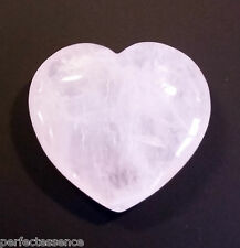 Big Rose Quartz Crystal  Heart - 60mm - Gemstone, Tumblestone - Love & Fertility