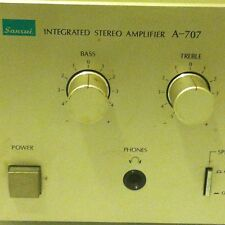 Vintage Sansui Integrated Stereo Amplifier – Model No. # A-707