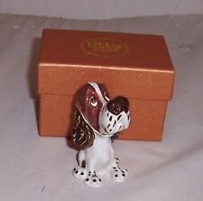 LITTLE PAWS Miniatures - figurine boxes Ben the Springer Spaniel