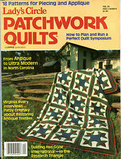Lady's Circle Magazine Patchwork Quilts Antique To Ultra Modern EX 081516jhe