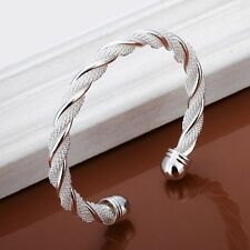 Armreif 925 Sterling Silber Armband Armkette Spange Schmuck Geschenk ZicZac Neu.