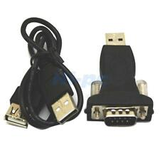 USB 2.0 to RS232 Serial 9 Pin 9P DB9 Adapter Converter