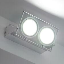 Applique moderno lampada a parete 10w 10 led bianco freddo resa 100w led power