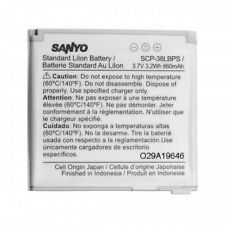 SANYO OEM SCP-38LBPS Cellphone Battery for Innuendo SCP-6780