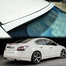 COLOR PAINTED FOR NISSAN MAXIMA A35 REAR ROOF WINDOW SPOILER 4DR 09-14 K ◣