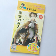 32pcs/Box Attack on Titan Anime Decals Stickers Paper For Phone Car Laptop