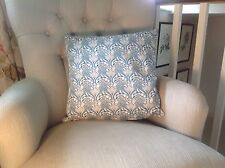 Liberty Print Blue Pegalia Cushion Cover