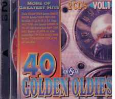 40 Golden Oldies Yellow River Sugar baby love The city Atlantis 2 Cd Sealed