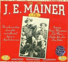 J.E. MAINER - 1935-1939: The Early Recordings [Box] CD NEW/ STILL SEALED RARE