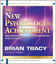 NEW 2 CD The New Psychology of Achievement Brian Tracy (Nightingale Conant)