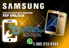 Samsung S7, S6, J7, J5, etc. Google Account Removal (FRP) via Remote USB.