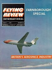 FLYING REVIEW INTL OCT 64 TSR-2 DETAILS_F-86_WW2 Bf110_SHORT BELFAST_TUPOLEV BEA