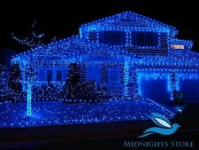 65 Foot BLUE STILL CLEAR LED DECORATION RICE LIGHT FOR DIWALI,CHRISTMAS(20M)