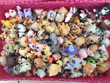 Littlest Pet Shop Grab bag: 2 pets and 5 accessories (official or handmade)