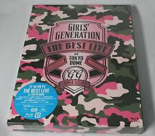 New SNSD GIRLS' GENERATION THE BEST LIVE at TOKYO DOME Blu-ray With PHOTO BOOK