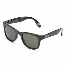 VANS NEW Men's Foldable Sunglasses Black Spicoli BNWT