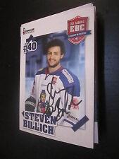 50060 Steven Billich EHC Freiburg Eishockey original signierte Autogrammkarte