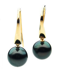 $ 2,899 Pacific Pearls® AAA 11mm Tahitian Black Pearl Earrings