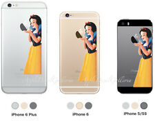 Snow White Apple iPhone 5 iPhone 5S iPhone 6 iPhone 6 Plus Decal Sticker Skin