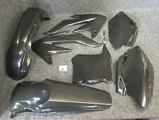 Honda CRF450 2008 nuevo Doc WOB X-Diversión PK1014 Kit Completo De Plástico Negro
