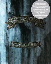 BON JOVI NEW JERSEY DELUXE 2 CD+DVD (1988 ACCESS ALL AREAS + 7 VIDEOS) 60Pg BOOK