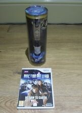 NEW DOCTOR WHO=SONIC SCREWDRIVER-REMOTE=RETURN TO EARTH+DR=NINTENDO Wii