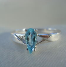 Certified Brazilian Neon Paraiba Tourmaline Solitaire White Gold Ring