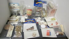LOT 2 22pc DOLLHOUSE MINIATURE HOUSE FOOD FRUIT PIE GROCERIES ETC. MIP FREE SHIP