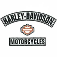 HARLEY DAVIDSON H-D Name Rockers 3pc Medium Patch
