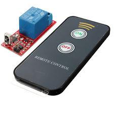 Module de Relais 1 Canal Contrôle à Distance Interrupteur Wireless IR DC 12V