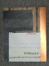 Govinder Nazran  Brimstone & Treacle  Collectible book-  Dealer