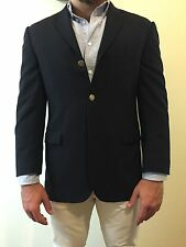 Men's Burberry 3 Button Navy Blazer - Classic - 40 S - Made in USA