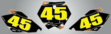 KTM 85 2006 - 2012 Custom Number Plate graphics