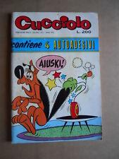 Cucciolo n°9 1974 edizioni ALPE  [G403]*