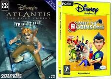 atlantis lost empire trial by fire & meet the robinsons  new&sealed