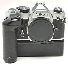 Nikon FM Body with Nikon MD-12