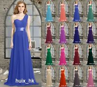 Long New Party Prom Bridesmaid Dress Formal Evening Ball Gown Stock Size 6-26