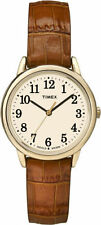 Timex TW2P68800, Women's Easy Reader, Brown Leather Watch, Indiglo, TW2P688009J