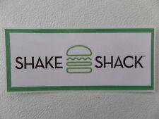 "SHAKE SHACK, GREAT BURGERS/SHAKES,+ CUSTARD, BEER & WINE-""BEST BURGERS IN USA"""