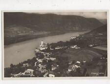 Schoenbuehel Wachau Austria 1934 RP Postcard 848a
