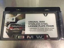 82-11-0-413-117 BMW LOGO CARBON FIBER LICENSE PLATE FRAME